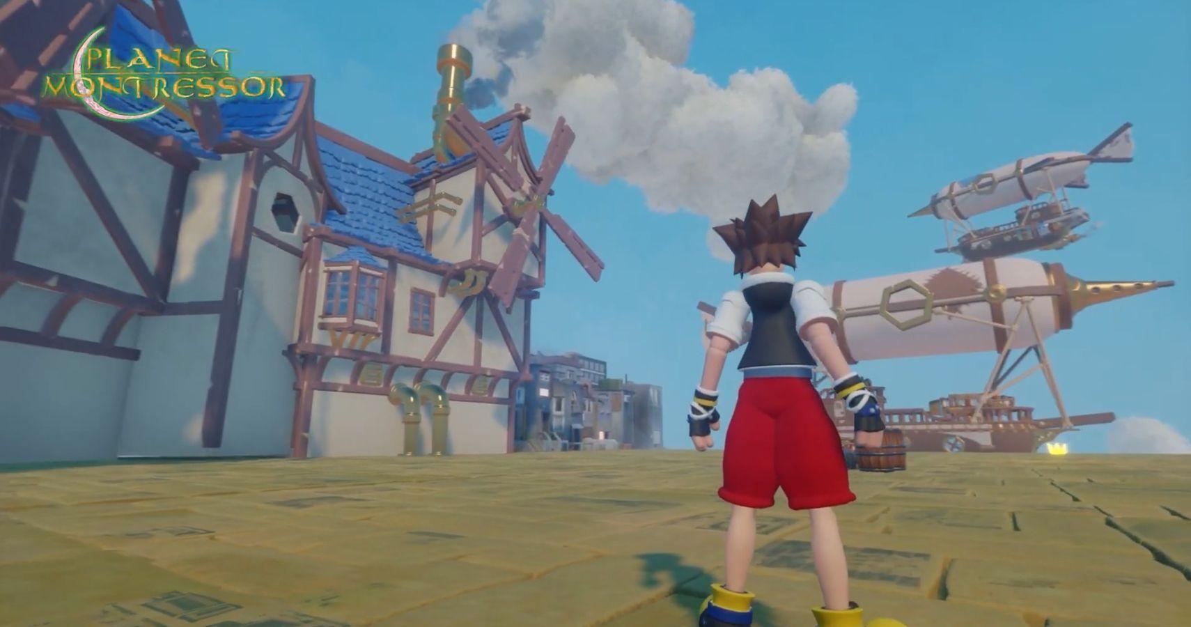 Kingdom Hearts Fan Shows What A Treasure Planet World Would Look Like In Dreams