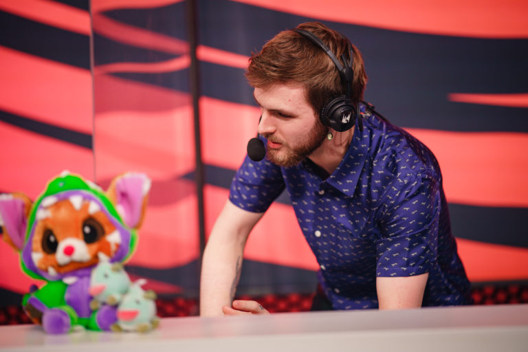 Drakos talks content creation and adapting to COVID-19 in the LEC