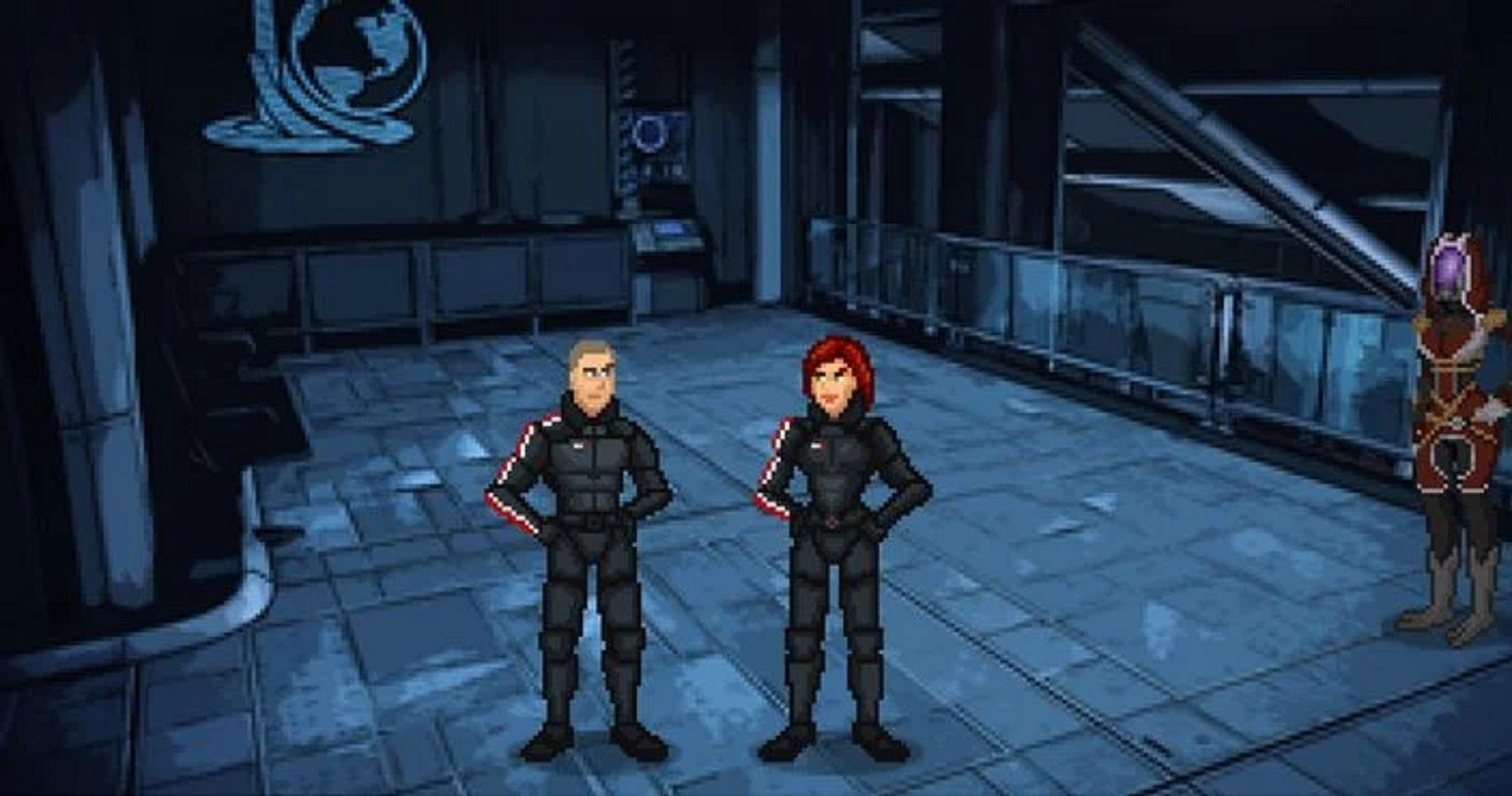 How Mass Effect Was Demade Into A Monkey Island-Style Point-And-Click Game