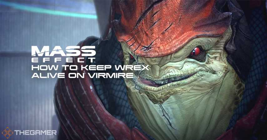 Mass Effect: How To Keep Wrex Alive On Virmire