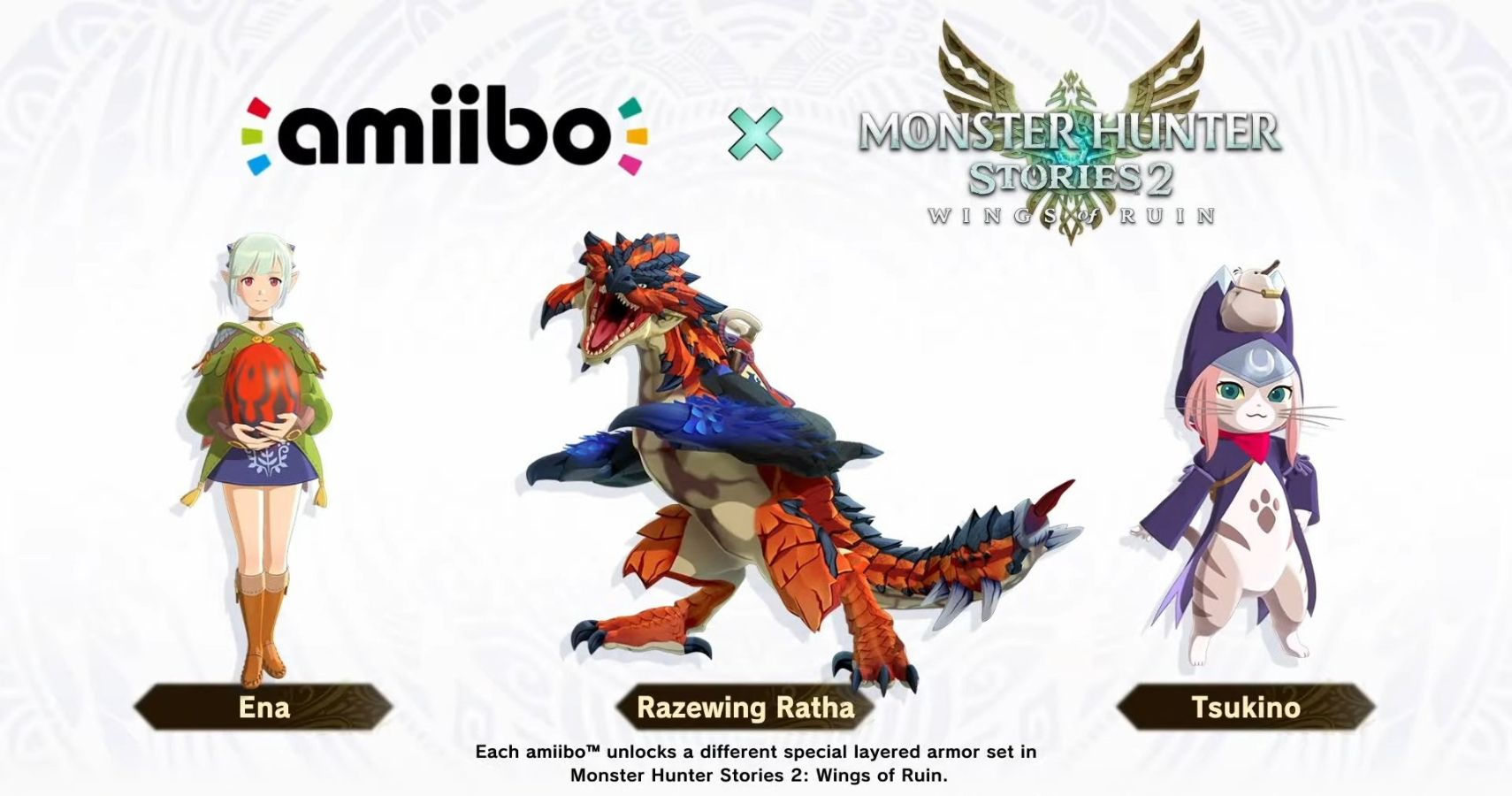 Monster Hunter Stories 2 Amiibo Will Only Be Available At GameStop