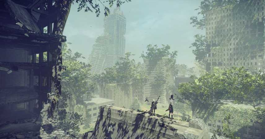 Nier: Automata's New PC Port Is Noticeably Better Than The Steam Release