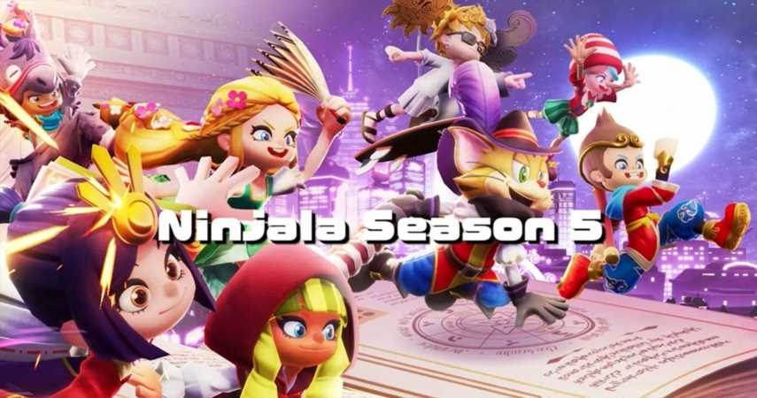Ninjala Players Can Compete Online Dressed As Fairy Tale Characters In Season 5