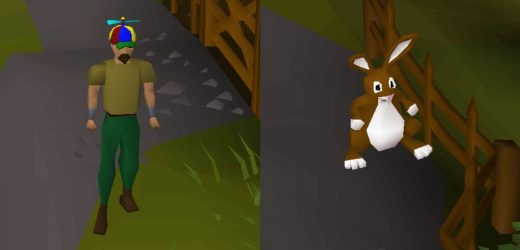 Old School RuneScape Easter Event 2021 Features An Angry Rabbit And A Propeller Hat
