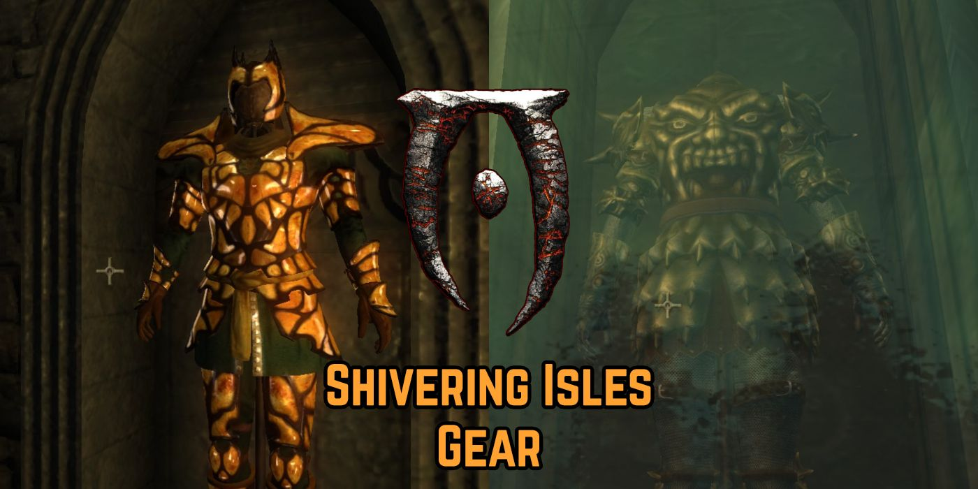 Oblivion: All The Cool Gear You Can Only Get From The Shivering Isles