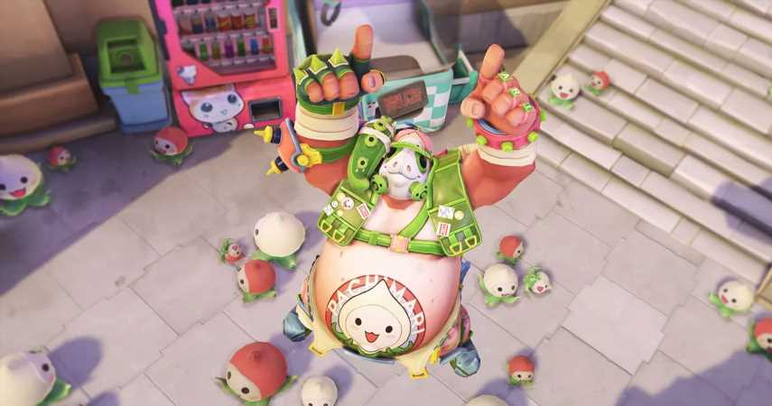 Overwatch: Get A Unique Roadhog Skin In The First Ever Pachimarchi Challenge
