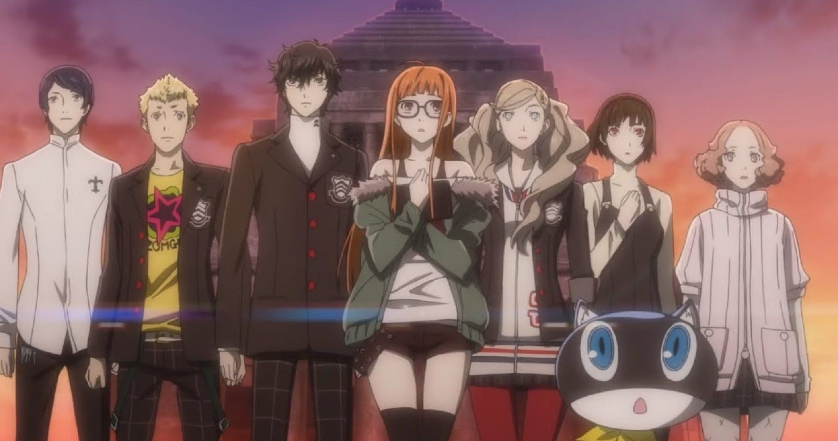 Persona 5's Anime Cutscenes Need Their Own Game