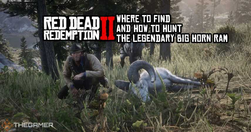 Red Dead Redemption 2: Where To Find And How To Hunt The Legendary Big Horn Ram