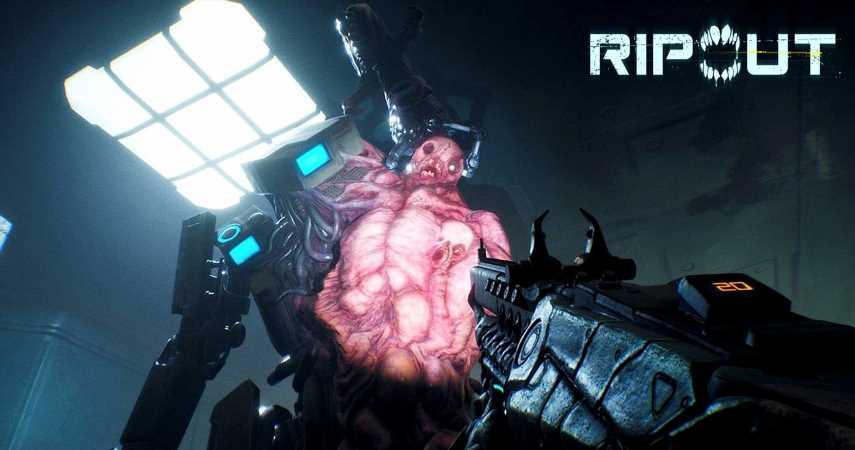 Ripout Is A New Co-Op FPS With Procedurally Generated Levels And Reconfigurable Mutants