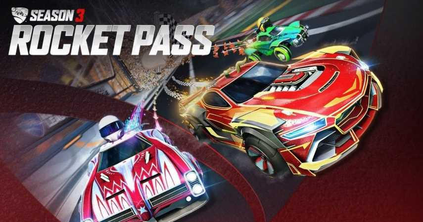 Rocket League Season 3 Rocket Pass Revealed, Includes Over 70 Tiers And New Premium Car