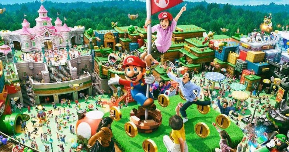 Super Nintendo World Will Finally Open On March 18 In Japan