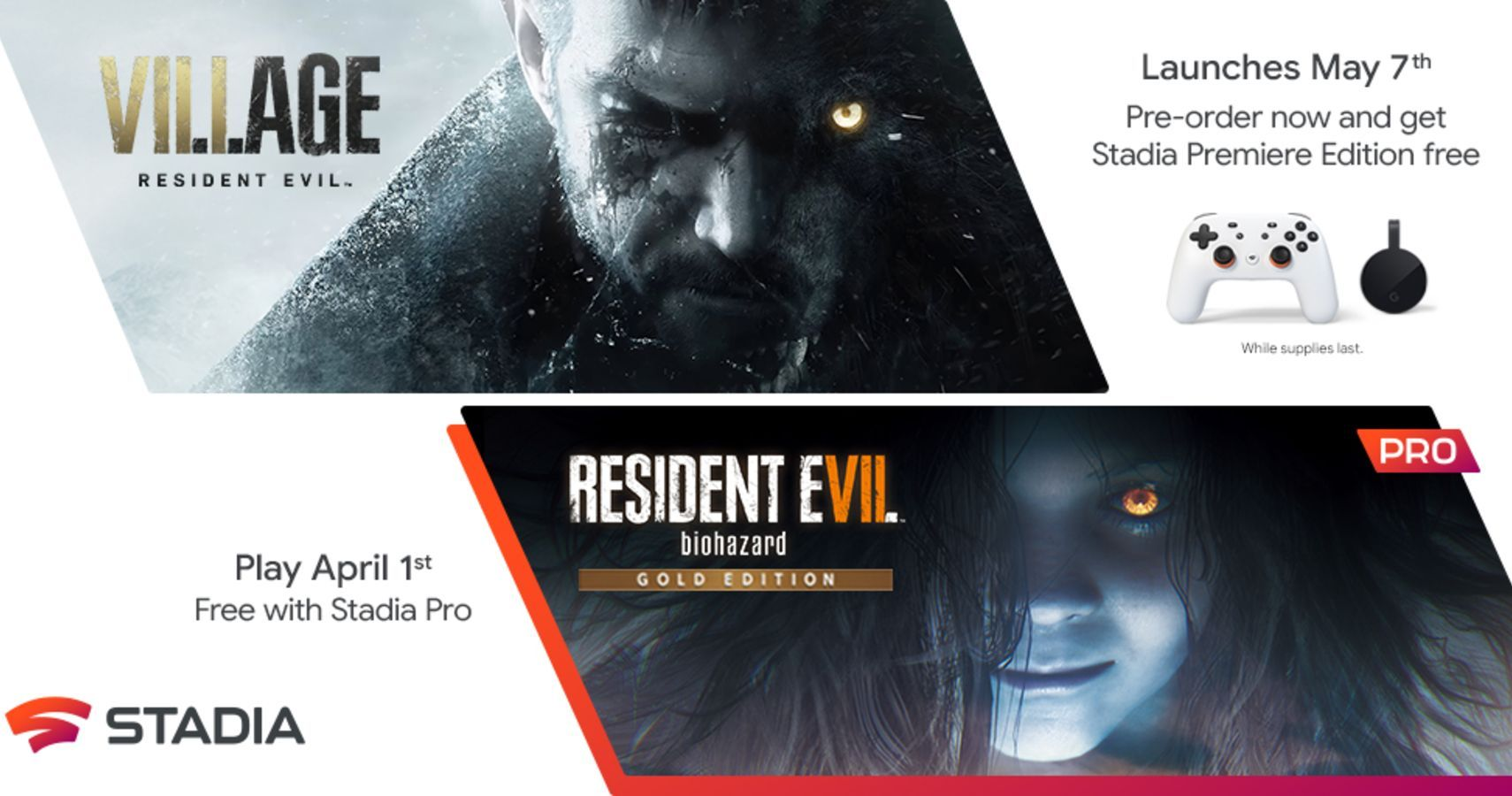 Resident Evil Village Coming To Stadia On May 7, Includes Stadia Premiere Edition For Free