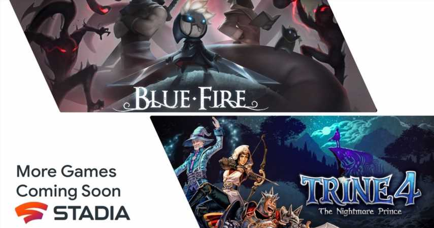 """Trine 4 and Blue Fire """"Coming Soon"""" To Google Stadia"""