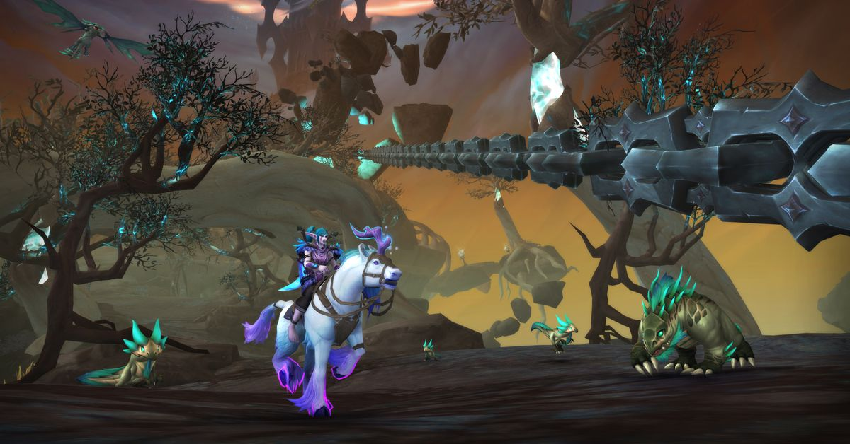 World of Warcraft: Shadowlands' new patch gives players better rewards for Mythic Plus