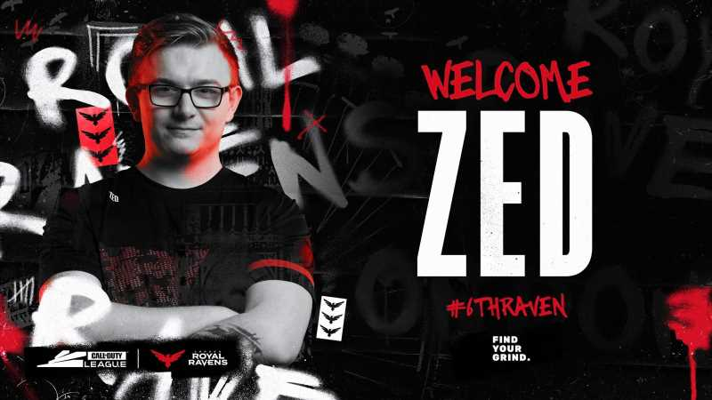 CoD: Zed To Replace Alexx On London Royal Ravens For Stage 1 Major