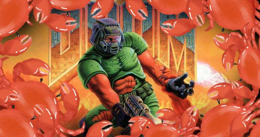 Scientists Think You Could Probably Play Doom Using The Power Of 16 Billion Crabs, If You Really Wanted To