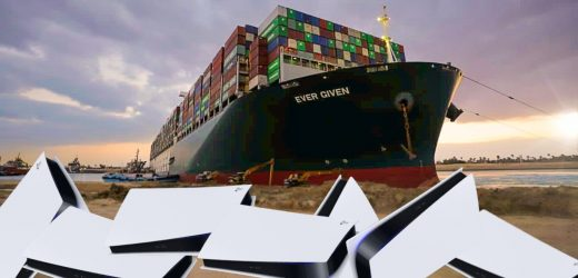 PS5 Stock Could Be Affected By The Ship Blocking The Suez Canal