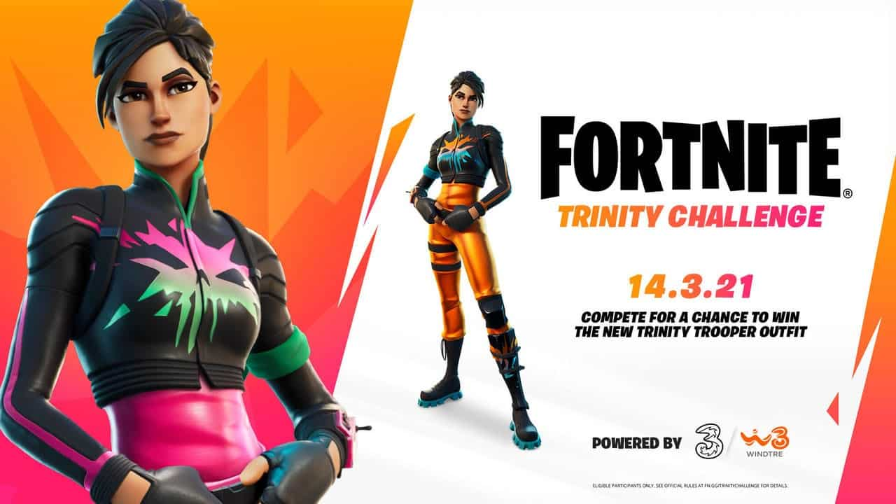 Fortnite: How To Get The Trinity Trooper Outfit For Free