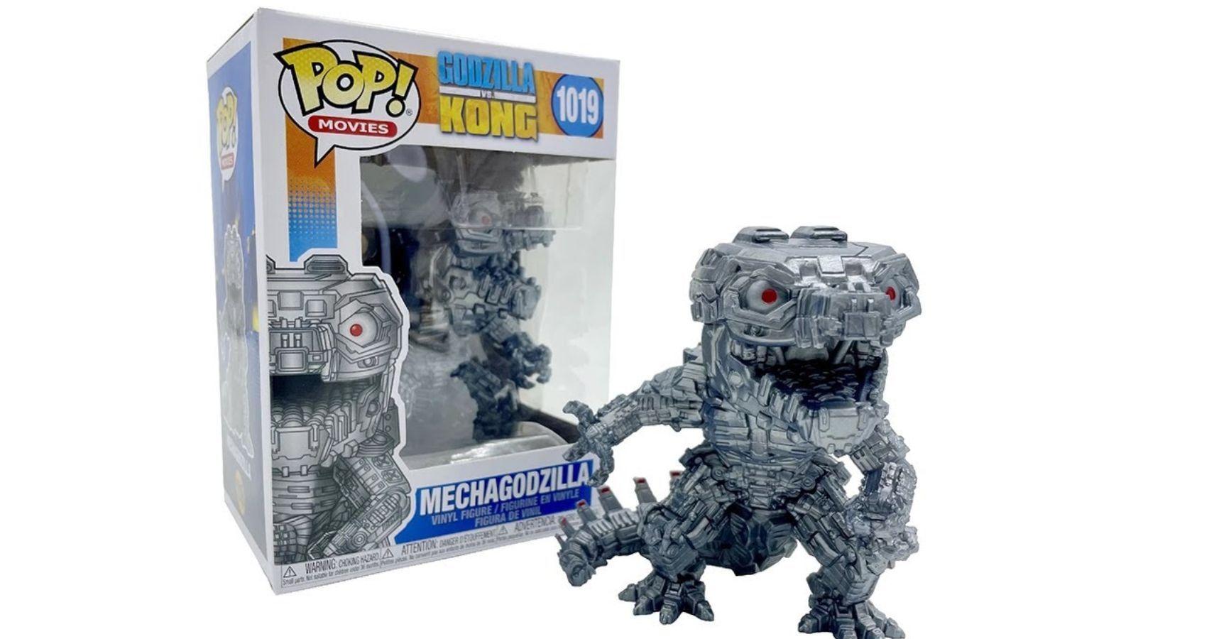 Godzilla vs. Kong's Mechagodzilla Has A Metallic Funko Pop Available For Pre-Order