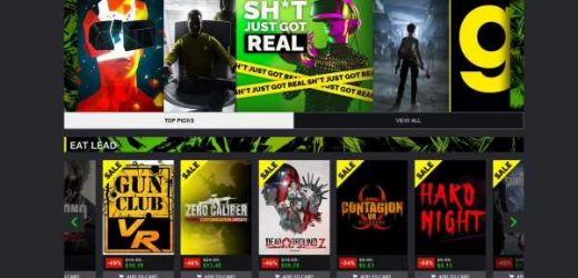 Huge Green Man Gaming Sale Discounts Tons Of PC VR Games
