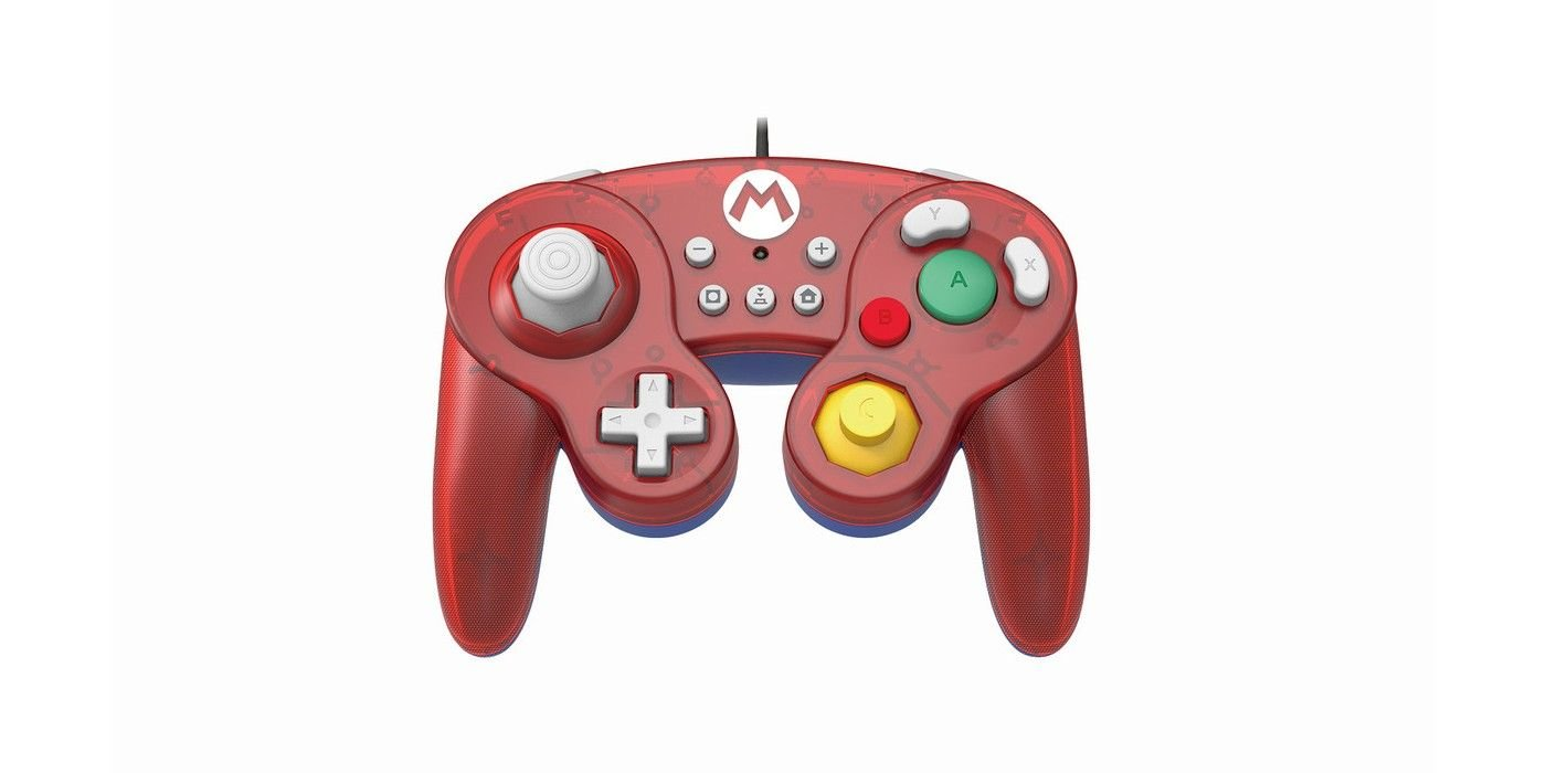 Hori Reveals Slick Mario And Zelda GameCube Controllers For Switch