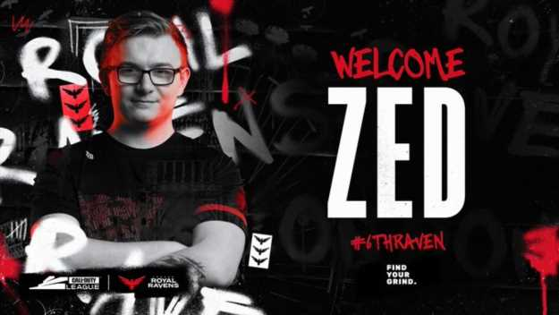 Zed joins London Royal Ravens as a temporary sub for Alexx –