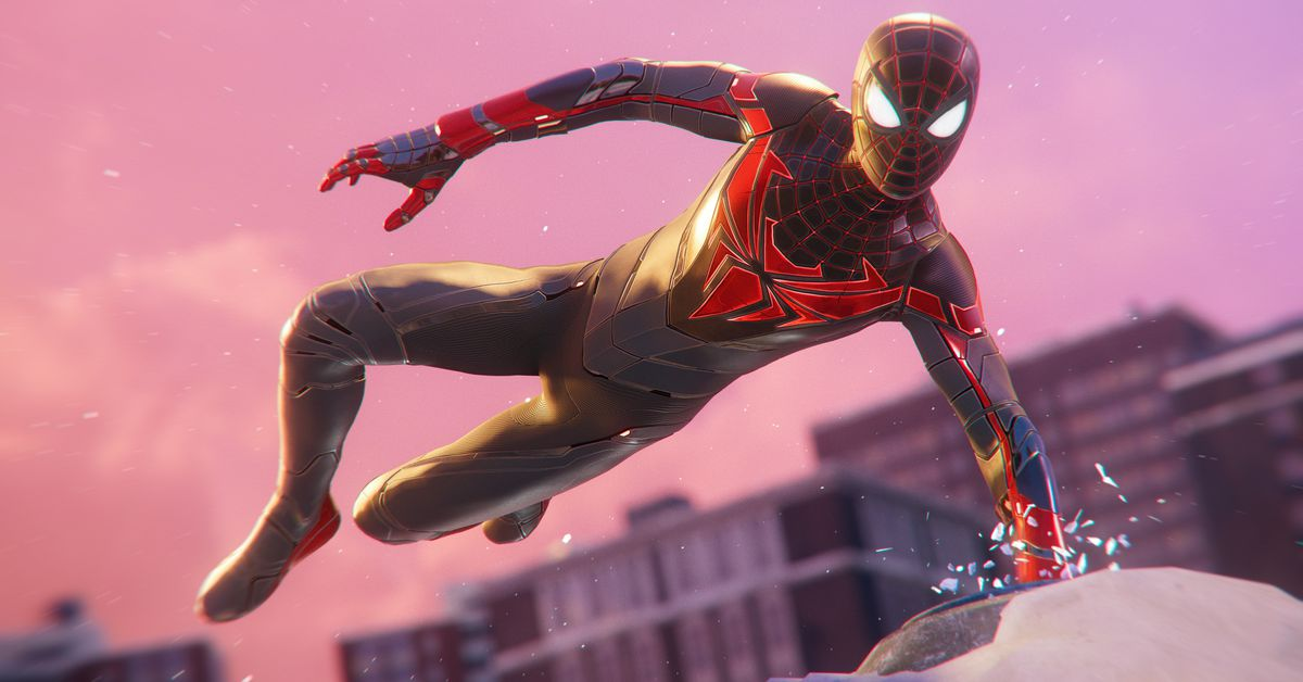 Spider-Man: Miles Morales update adds advanced suit and advanced muscles