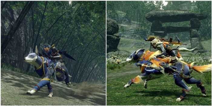 Monster Hunter Rise: Everything We Know Palamutes Can Do So Far