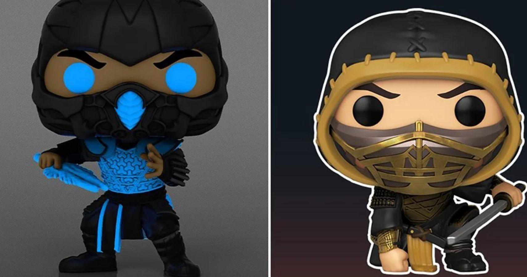 Mortal Kombat Funko Pop Line Revealed, Including Scorpion, Sonya Blade, And Sub-Zero