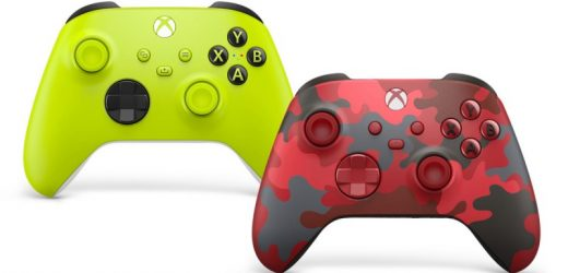 Two New Xbox Series X Wireless Controllers Revealed With Electric Volt and Daystrike Camo