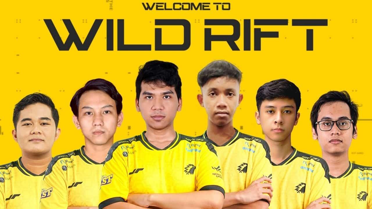 Onic Esports Announces New LoL Wild Rift Roster
