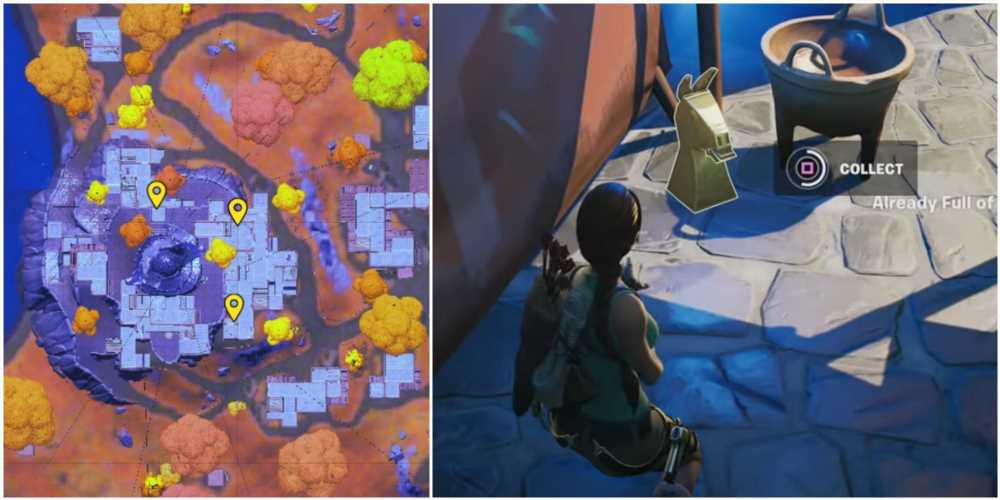 Fortnite: Where To Find The Golden Artifacts Near The Spire