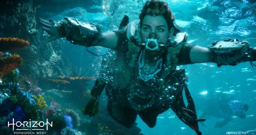 Horizon Forbidden West's Underwater Levels Are Probably Going To Be Brilliant