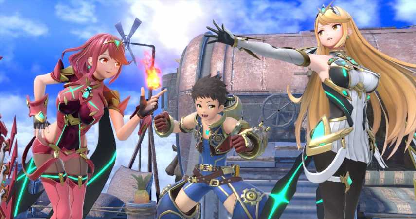 Pyra And Mythra Will Officially Join The Smash Ultimate Roster March 5