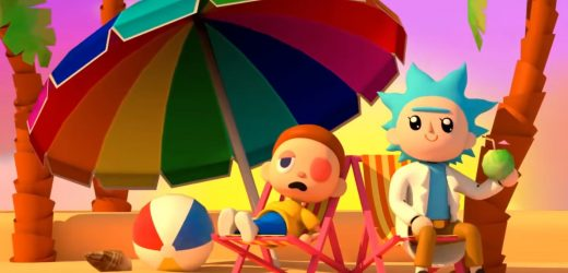 Animal Crossing Meets Rick And Morty In New Adult Swim Promo