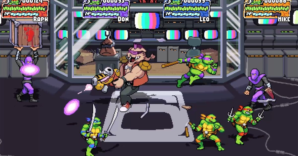 The Teenage Mutant Ninja Turtles are getting a new retro beat-'em-up