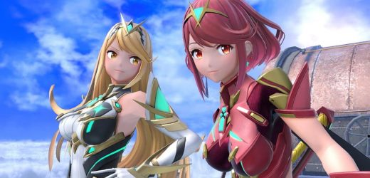 Watch the new Super Smash Bros. gameplay reveal of Pyra and Mythra