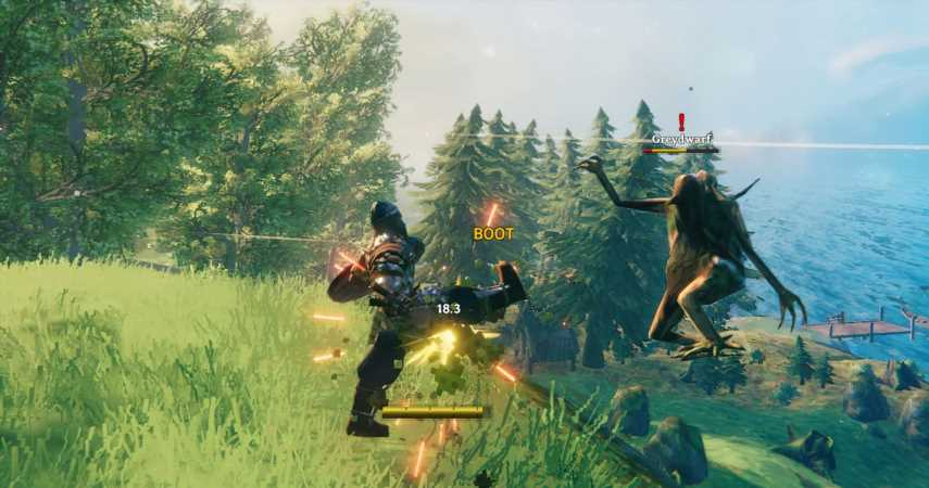 Valheim Kicks Are Now Lethal Courtesy Of The 'Give 'Em The Boot Mod