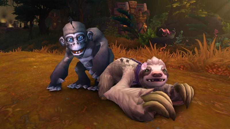 New World of Warcraft Charity Pets For Doctors Without Borders Are Here