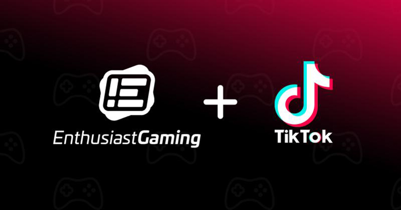 Enthusiast Gaming in Pact With TikTok