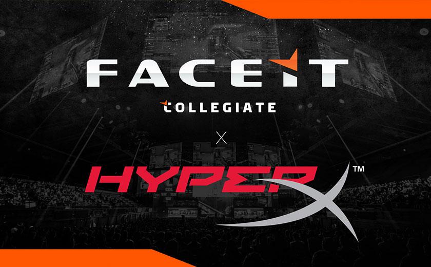 FACEIT reveals HyperX as first sponsor of collegiate leagues – Esports Insider