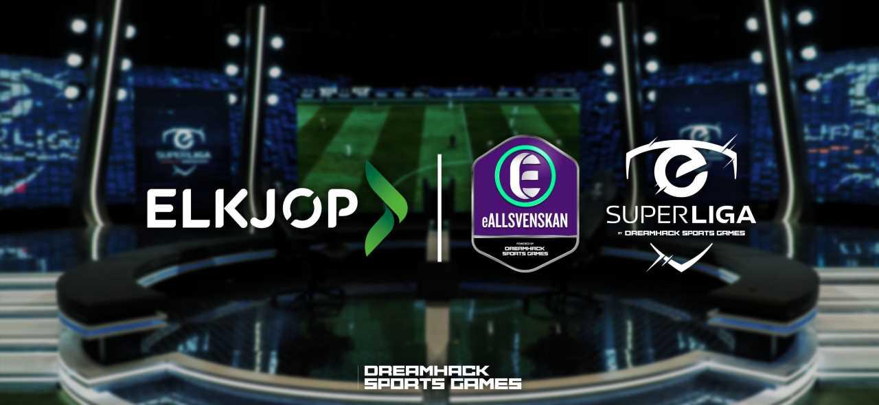 Elgiganten, DreamHack Sports Games Announce Three-Year Partnership for eSuperliga, eAllsvenskan