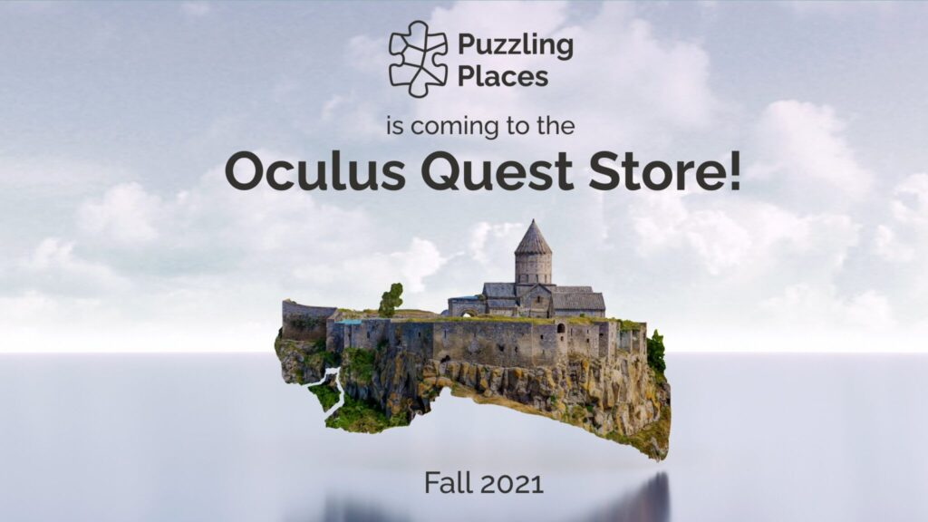 App Lab's Puzzling Places Heads to Oculus Quest Store Fall 2021