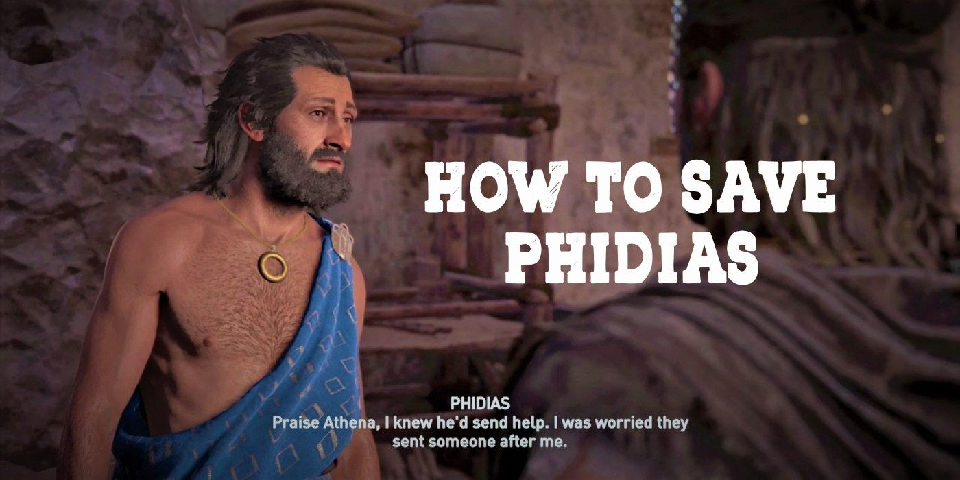 Assassin's Creed Odyssey: How To Save Phidias