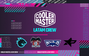 Cooler Master announces LATAM Crew partnerships