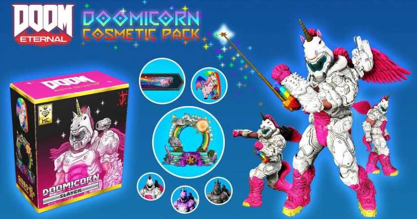 Doom Eternal Just Got Paid Skins Despite Promise For Zero Microtransactions