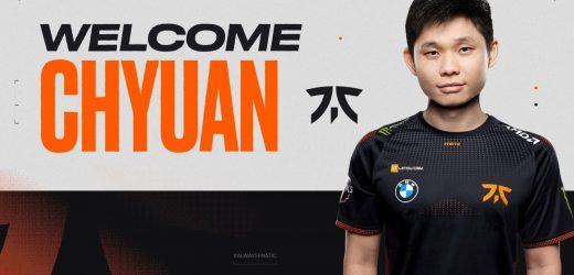 Dota 2: ChYuan Replaces Masaros On Fnatic's Offlane