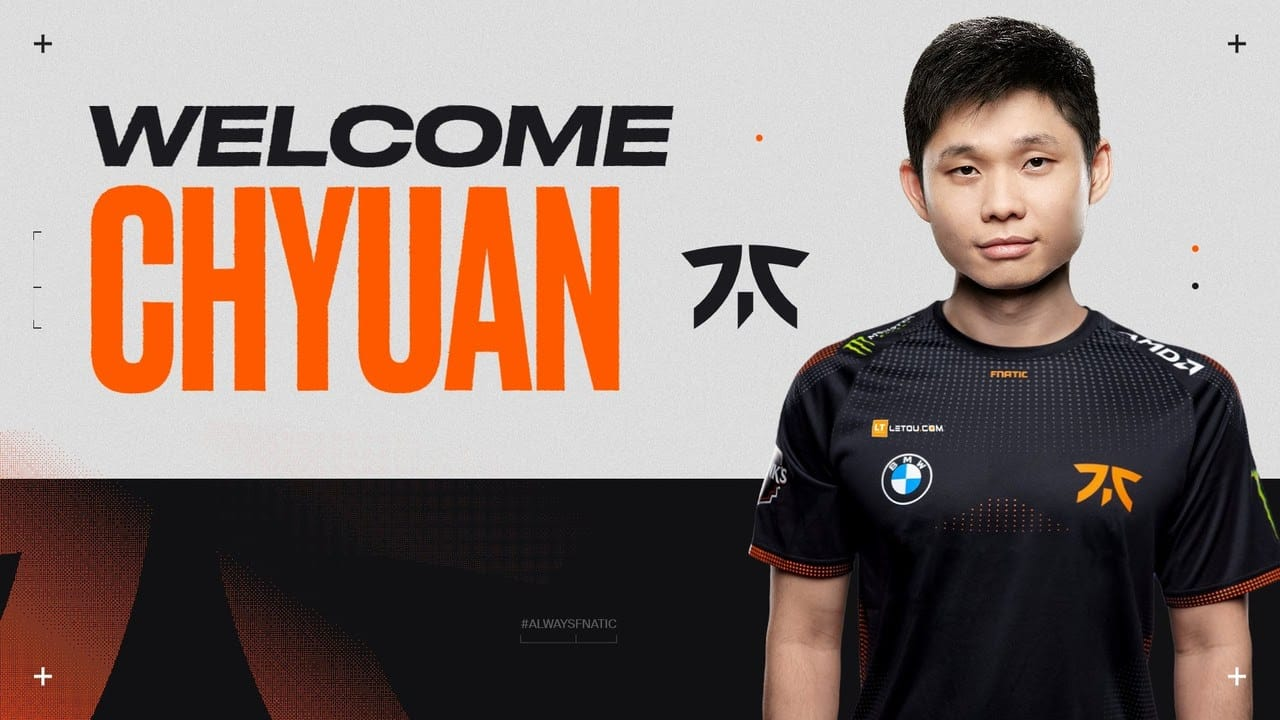 Dota 2: ChYuan Replaces Masaros On Fnatic's Offlane