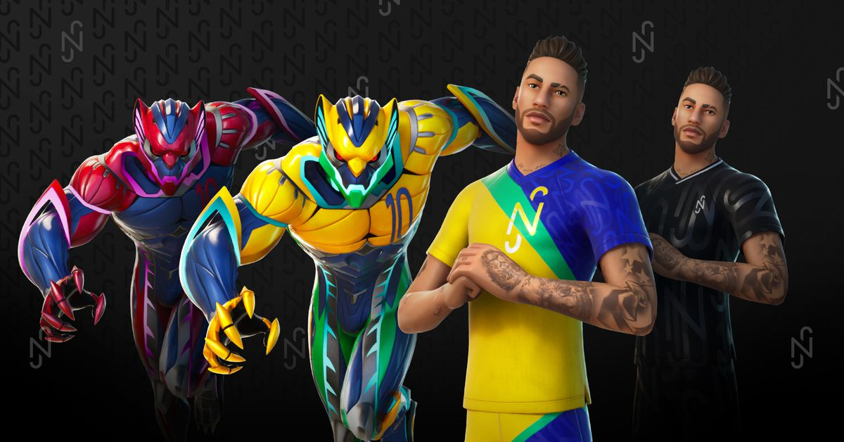 Fortnite's transforming Neymar Jr. outfit finally has a release date
