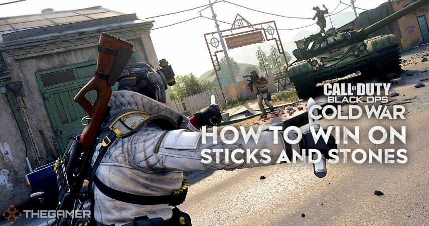 How To Win Sticks And Stones In COD Black Ops: Cold War